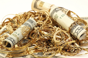 Gold and cash